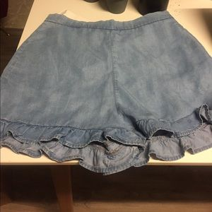 NWT Zara summer short with ruffles